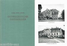 #10917 Ostpreußische Gutshäuser Lorck Adel Königsberg Schlösser Herrensitze 1953