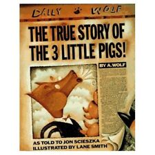 The True Story of the 3 Little Pigs (Viking Kestre