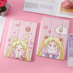 Sailor Moon Smart TPU Flip Pad Case Cover Stand for iPad Pro10.5 9.7 /Air2 /Mini