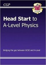 New Head Start to A-Level Physics New Paperback Book CGP Books