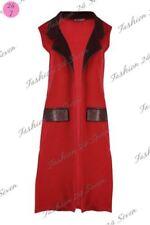 Manteaux et vestes en polyester taille S sans manches pour femme