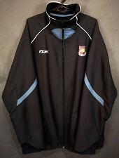 ALAN CURBISHLEY REEBOK FC WEST HAM UNITED 2006 JACKET SOCCER FOOTBALL SIZE XL