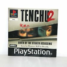 INSTRUCTION MANUAL FOR PS1 PSONE TENCHU 2 PLAYSTATION GAME