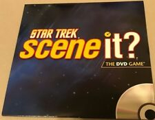 Star Trek Scene It? The DVD Game Disc Only Mattel EUC