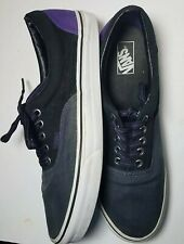 VAN'S Era OTW TB4R Rally Skate Shoes Black Purple Gray Sneakers Men's Size 11.5