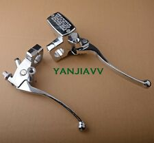 Chrome Brake Master Cylinder Clutch Levers for Kawasaki Vulcan EN 500 VN 800 900