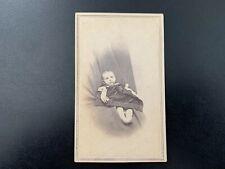Antique 1860's POST MORTEM  CDV Photograph