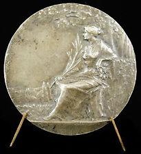 Medaille à L Leblond Allégorie syndicat commerce & industrie Baudichon medal