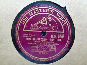 GLENN MILLER - Tuxedo Junction / Danny Boy 78 rpm disc