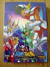 Saint Seiya Los Caballeros del Zodiaco - Saga del Santuario Box 1 - Nuevo - DVD