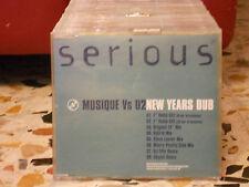 MUSIQUE Vs U2 - NEW YEARS DUB 8 tracks version MAURO PICOTTO STEVE LAWLER 2001