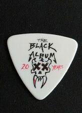 Rare mediator / pick Metallica Tour 2012 Black Album