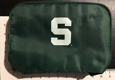 MSU Michigan State Spartans - Canvas Shaving Bag - Green White - NCAA - College