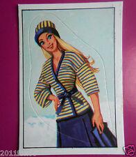 figurines prentjes cromos stickers picture cards figurine barbie 190 panini 1976