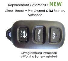 keyless remote control 95 96 97 Lexus HYQWDT-C fob transmitter entry keyfob bob