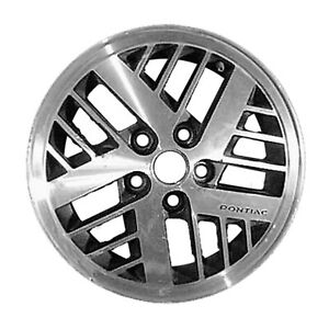 01368 Reconditioned 14X6 Alloy Wheel Rim WHITE Painted with Flange Cut
