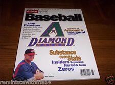 ARIZONA DIAMONDBACKS 1998 INAUGURAL SEASON - ATHLON ANNUAL - MATT WILLIAMS