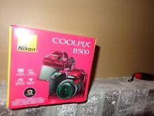 Nikon COOLPIX B500 16.0MP Digital Camera - Red (Authentic)