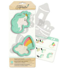 NEW 2 Pc Sweet Sugarbelle Enchanted Specialty Cookie Cutter Set