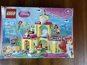 Lego Ariel's Undersea Palace 41063 Disney Princess Set Box Manual