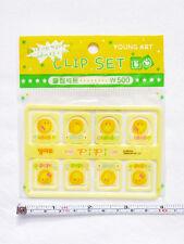 NEW MORNING GLORY Mini Agenda/Planner 8 Paper Clip Set *SUPER CUTE*