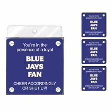 New listing Tree-Free Greetings Nc38105 Blue Jays Baseball Fan 4-Pack Artful Coaster Set