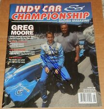 Greg Moore Signed Autographed Indy Car Magazine 1998