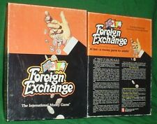 FOREIGN EXCHANGE, THE INTERNATIONAL MONEY GAME, AVALON HILL, 1979, COMPLETE,MINT