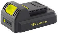 Genuine DRAPER 18V 2Ah Li-Ion Battery Pack | 80628