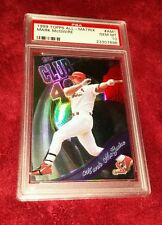 MARK MCGWIRE 1999 TOPPS ALL-MATRIX REFRACTOR FOIL PSA 10 ☆ POP 1/7 RECORDED