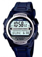 Casio W-756-2A Orologio, Arbitro,allarme,Batt.10 Anni
