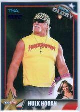 "HULK HOGAN ""BLUE PARALLEL BASE CARD #89 #08/10"" TNA IMPACT GLORY 2013"