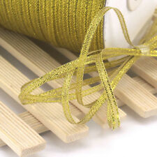 "1/8""3mm 20Yards Satin Ribbon DIY Bow Hair Wedding Decoration Sewing Craft"