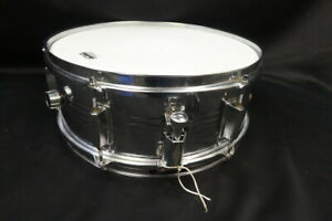 Unbranded 5x14 Steel Shell Snare Drum