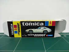 REPRODUCTION BOX for Tomica Black Box No.5 Toyota 2000GT