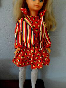 Rare tenue vintage hors catalogue pour la poupée mannequin CATHY / CATHIE  BELLA