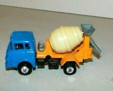 Shinsei Mini Power Die Cast GMC Cab Over Concrete Cement Mixer Truck Made Japan