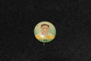 1932 ORBIT GUM ERNIE LOMBARDI #58 VINTAGE PIN CINCINNATI REDS Z3540