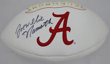 "Joe ""Willie"" Namath Autographed Alabama White Logo (FLAT) Football JSA #WP424438"