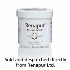 Renapur Leather Balsam 200ml conditioner waterproofer sofas shoes tack car bike