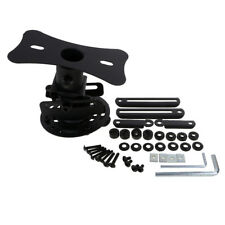 360 Degree Projector Ceiling Mounts Wall Bracket Roof Hanger Mount Black
