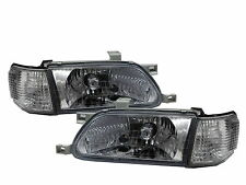 Tercel L50 1995-1999 CRYSTAL Headligh Headlamp CHROME for TOYOTA LHD