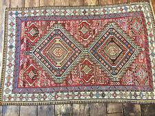 Antique Caucasian Shirvan Hand made rug 173x114cm / 5.3x3.9