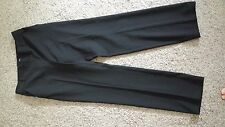 "WOMANS DRESS PANT SZ MEDIUM ( 30"" ALL THE AROUND  BLACK BY KIMTEXS HIGH QUALITY"