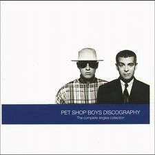 PET SHOP BOYS ( NEW SEALED CD ) DISCOGRAPHY - GREATEST HITS / THE VERY BEST OF