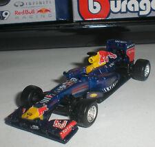 BBURAGO RACE CARS F1 RED BULL RACING RENAULT RB9 S.VETTEL #1 ECHELLE 1/64 NEUF