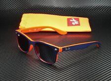RAY BAN KIDS RJ9052S 178 80 New Wayfarer Blue On Orange Blue 48 mm Sunglasses