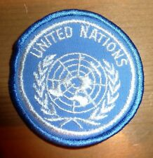 UNITED NATIONS CLOTH BADGE PATCH