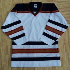 NEW Vintage VKM S NHL Replica Ice Hockey Practice Jersey Edmonton Oilers NOS