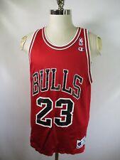 E8538 VTG CHAMPION Chicago Bulls Jordan NBA Basketball Reversible Jersey Size 44